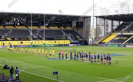 Editorial picture of Heineken Champions Cup Quarter-Final, Stade Marcel Deflandre, La Rochelle, France - 10 Apr 2021
