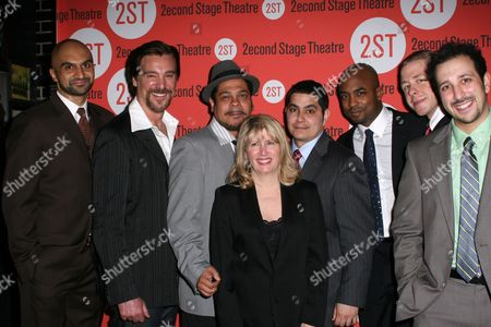 Usman Ally, Michael T Weiss, Edward Torres, Carole Rothman, Kristoffer Diaz, Terence Archie, Christian Litke, Desmin Borges