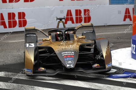 Antonio Felix da Costa (PRT), DS Techeetah, DS E-Tense FE21 during the 2021 Formula E Round 3 - Rome E-Prix in this Handout Photo from the FIA Formula E World Championship for editorial use only (no commercial use)