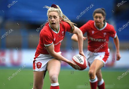 Hannah Jones of Wales.