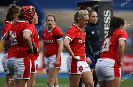Editorial picture of Wales Women v Ireland Women - Women's 2021 Six Nations Pool B - 10 Apr 2021