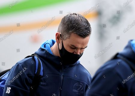 Exeter Chiefs vs Leinster. Leinster's Johnny Sexton arrives