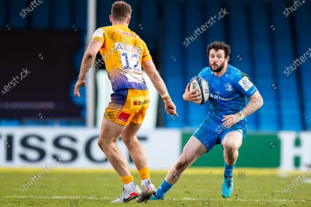 Stock Picture of Robbie Henshaw of Leinster during the Heineken Champions Cup Rugby match between Exeter Chiefs and Leinster Rugby at Sandy Park, Exeter