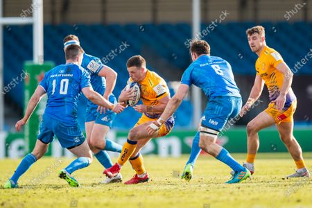 Editorial photo of Exeter Chiefs v Leinster Rugby, Heineken Champions Cup - 10 Apr 2021