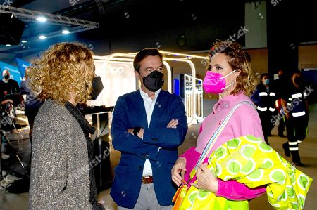 Meritxell Batet, Eduardo Lopez Puertas and Agatha Ruiz de la Prada