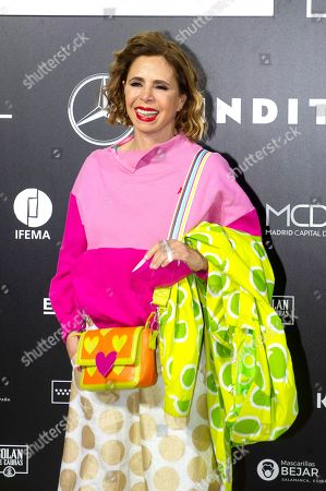 Editorial photo of Angel Schlesser show, Arrivals, Fall Winter 2022, Mercedes Benz Fashion Week, Madrid, Spain - 10 Apr 2021