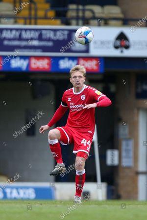 Josh Wright of Crawley Town
