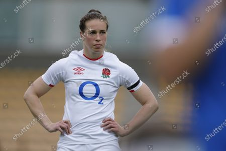 England's Emily Scarratt.
