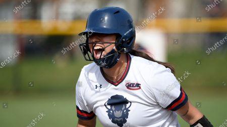 Editorial picture of Morgan St Howard Softball, Washington, United States - 10 Apr 2021