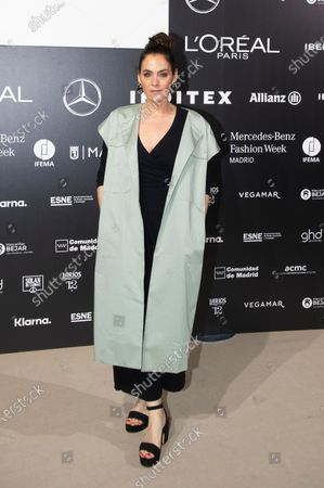 Editorial photo of Isabel Sanchis show, Arrivals, Fall Winter 2022, Mercedes Benz Fashion Week, Madrid, Spain - 10 Apr 2021