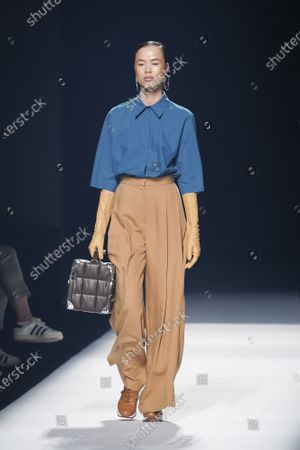 Editorial picture of Angel Schlesser show, Runway, Fall Winter 2022, Mercedes Benz Fashion Week, Madrid, Spain - 10 Apr 2021
