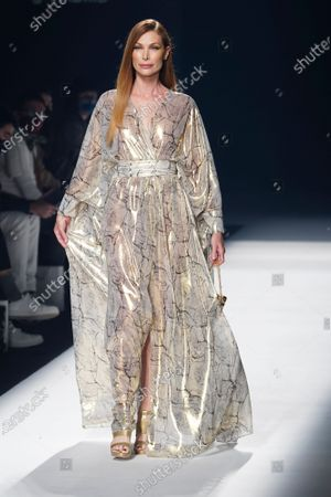 Stock Picture of Cristina Piaget on the catwalk