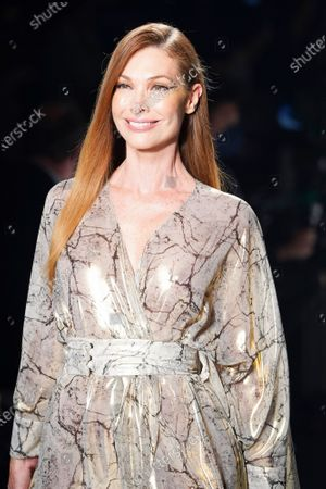 Editorial photo of Angel Schlesser show, Runway, Fall Winter 2022, Mercedes Benz Fashion Week, Madrid, Spain - 10 Apr 2021