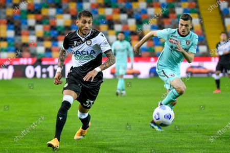 Roberto Pereyra (Udinese) in action