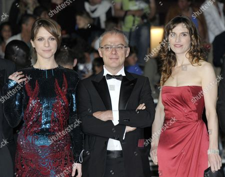 Isabella Ragonese, Daniele Luchetti and Stefania Montorsi