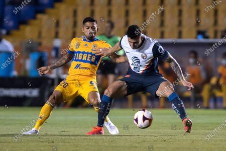 Editorial picture of Tigres UANL vs Club America, Monterrey, Mexico - 10 Apr 2021
