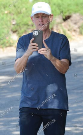Editorial image of Exclusive - Ellen DeGeneres out and about, Montecito, USA - 10 Apr 2021