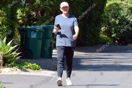 Editorial picture of Exclusive - Ellen DeGeneres out and about, Montecito, USA - 10 Apr 2021
