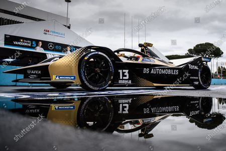 Stock Picture of Antonio Felix da Costa (PRT), DS Techeetah, DS E-Tense FE21 during the 2021 Formula E Round 4 - Rome E-Prix
