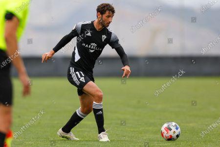 Esteban Granero of Marbella FC during the Second Division B match between Recreativo Granada and Marbella FC at Ciudad Deportiva Granada CF on April 11, 2021 in Granada, Spain.