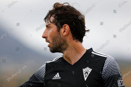 Stock Image of Esteban Granero of Marbella FC during the Second Division B match between Recreativo Granada and Marbella FC at Ciudad Deportiva Granada CF on April 11, 2021 in Granada, Spain.