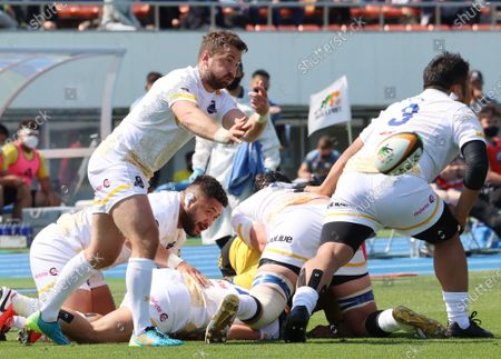Editorial image of Japan Rugby Top League, Suntory Sungoliath defeated NTT Communications Shining Arcs, Tokyo, Japan - 11 Apr 2021