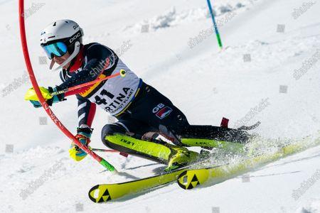 Editorial picture of Telepass FIS Alpine World Ski Championships, Cortina d'Ampezzo, Italy - 21 Feb 2021