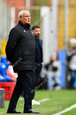 Editorial image of UC Sampdoria vs SSC Napoli, Genoa, Italy - 11 Apr 2021