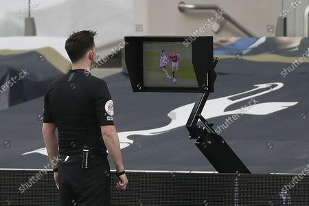Editorial photo of Tottenham Hotspur vs Manchester United, London, United Kingdom - 11 Apr 2021