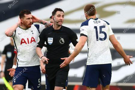 Editorial image of Tottenham Hotspur vs Manchester United, London, United Kingdom - 11 Apr 2021