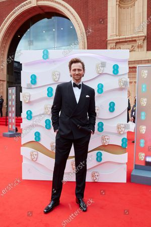 London, Sunday 11th April 2021: Tom Hiddleston at the 2021 EE British Academy Film Awards. Interviews will be available exclusively at twitter.com/ee