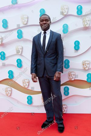 Stock Picture of London, Sunday 11th April 2021: David Oyelowo at the 2021 EE British Academy Film Awards. Interviews will be available exclusively at twitter.com/ee