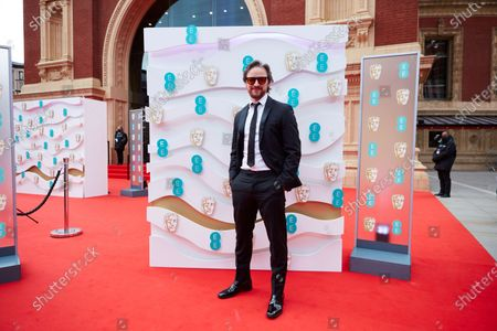 Stock Image of London, Sunday 11th April 2021: James McAvoy at the 2021 EE British Academy Film Awards. Interviews will be available exclusively at twitter.com/ee