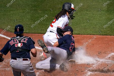 Editorial image of Red Sox Orioles Baseball, Baltimore, United States - 11 Apr 2021