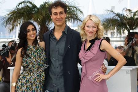 Liraz Charhi, Doug Liman and Naomi Watts