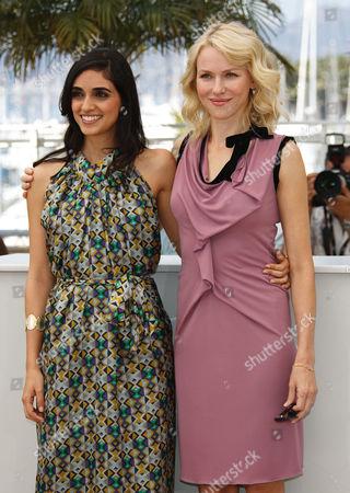 Liraz Charhi and Naomi Watts
