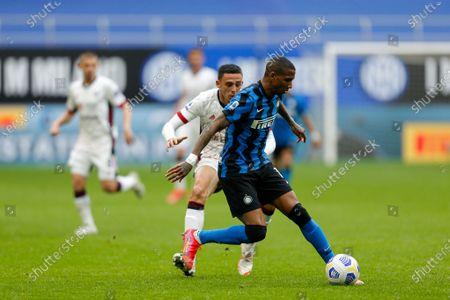 Editorial photo of Italian football Serie A, FC Internazionale v Cagliari Calcio, Milan, Italy - 11 Apr 2021