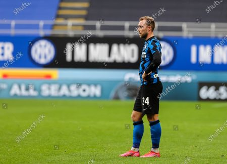 Stock Photo of Christian Eriksen of FC Internazionale