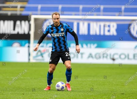Christian Eriksen of FC Internazionale in action