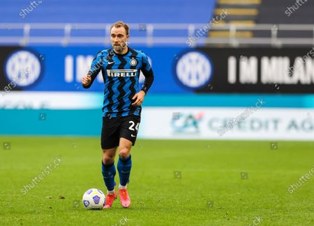 Stock Picture of Christian Eriksen of FC Internazionale in action