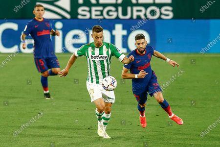 Editorial picture of Real Betis v Atletico de Madrid, LaLiga Santander, date 30. Football, Benito Villamarin Stadium, Sevilla, Spain - 11 APR 2021