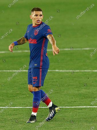 Lucas Torreira of Atletico de Madrid