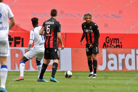 Editorial image of Nice v Reims, League 1, Football, France - 11 Apr 2021