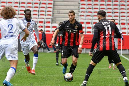 Editorial photo of Nice v Reims, League 1, Football, France - 11 Apr 2021