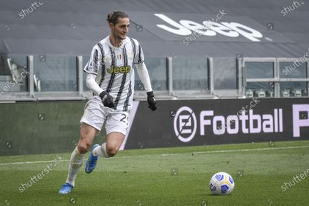 Editorial picture of Juventus v Genoa, Serie A League match, Football, Allianz Stadium, Turin, Italy - 11 Apr 2021