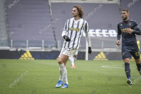Editorial image of Juventus v Genoa, Serie A League match, Football, Allianz Stadium, Turin, Italy - 11 Apr 2021