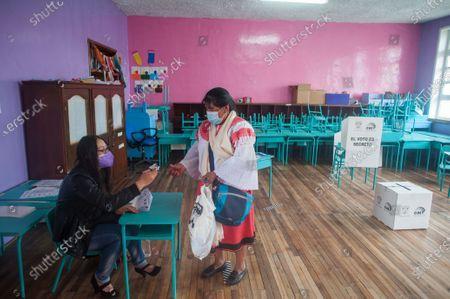 Editorial picture of General elections in Quito, Ecuador - 11 Apr 2021