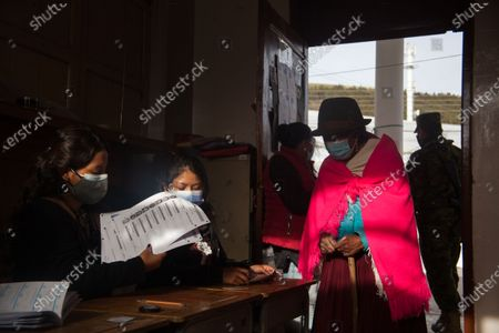 Editorial image of General elections in Quito, Ecuador - 11 Apr 2021