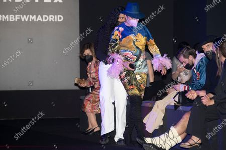 Stock Photo of Rossy De Palma in the front row