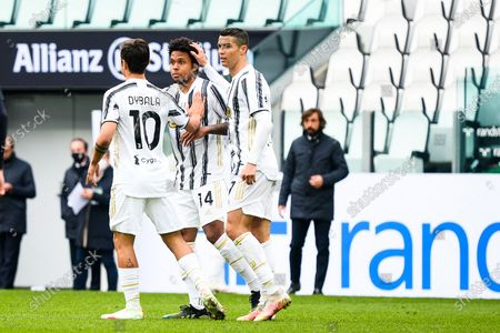 Editorial image of Juventus vs Genoa - Serie A, Turin, Piedmont, Italy - 11 Apr 2021